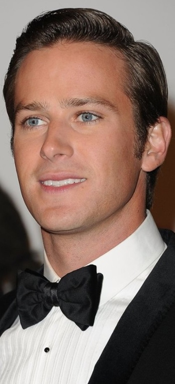 Armie Hammer. Those eyes, that face.