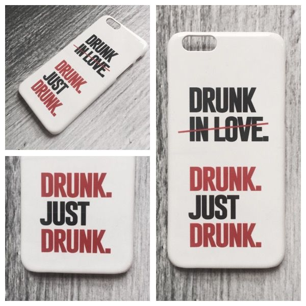 DRUNK Case by DeinDesign. Link zum Design >> designskins.com/de/designs/statements/drunk || #deindesign #designcase #dd #handycase #handycover #handyhuelle #smartphone #iphone #phonecase #case #cover #huelle #bag #tasche #statement #quote #zitat #drunk #drunkinlove #love #inlove #alcohol