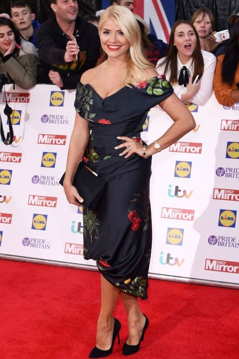 Holly Willoughby At The Pride Of Britain Awards, 2015