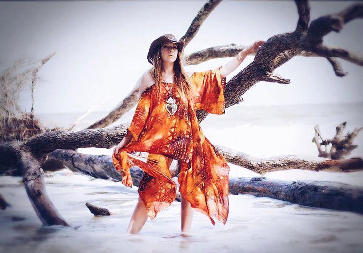Boho Batik sundress, Bohemian Hippie mexicali dress, Batik gauze day tripper casual day dress, Autumn gold, orange, True rebel clothing OS by TrueRebelClothing on Etsy https://www.etsy.com/listing/206330013/boho-batik-sundress-bohemian-hippie