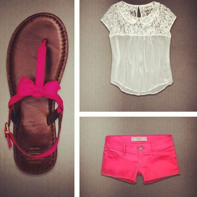 really cute outfit  for the summer <3