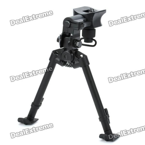 Retractable Aluminum alloy Rifle Bipod (26~ 35cm / 30KG-Bearing Weight) Price: $44.30