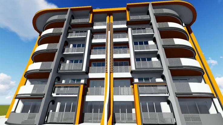 Apartman Projesi - Isparta