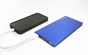 iMojo - USB Battery, 8000 mAh capacity...enough to recharge a tablet and smartphone