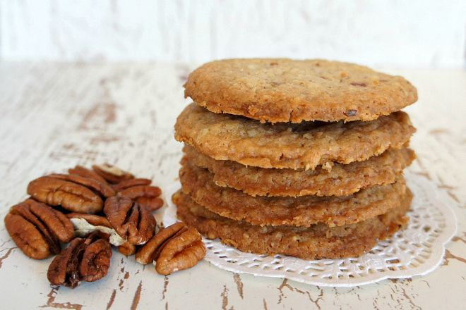 Pecan shortbread cookies | Recipe