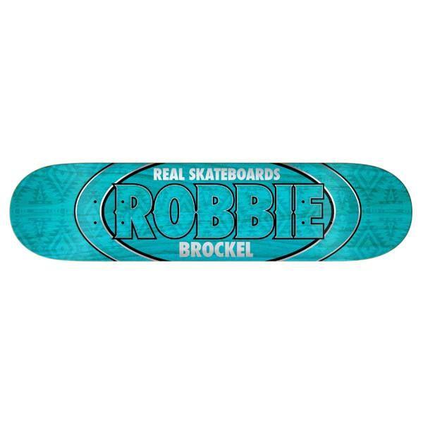 Real Skateboard Deck Robbie Brockel Oval 8.25 | snapchat @ http://ift.tt/2izonFx