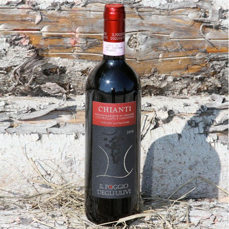 Chianti 2010. Hand picked Sangiovese for a quality product. Our first vintage.
