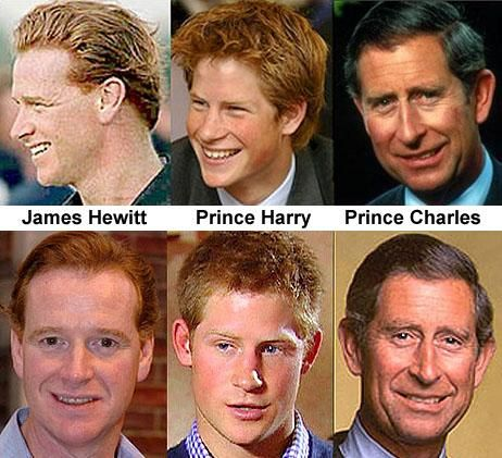 "prince-harry-james-hewitt.jpeg……..AS THE SONG ASKS: ""WHO'S YOUR DADDY  BOY?? WHO'S YOUR DADDY NOW""(??)…………ccp"