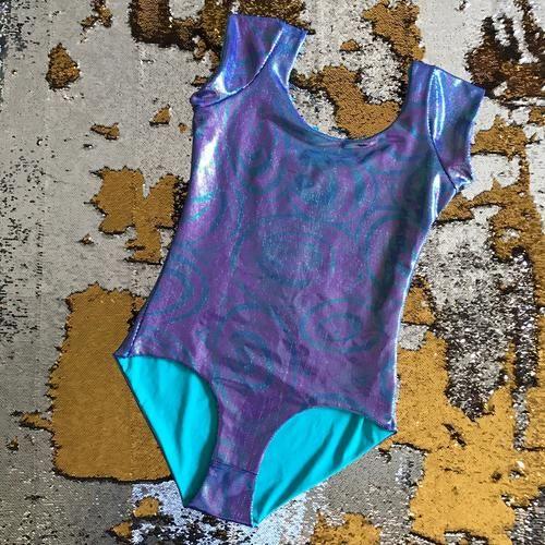 XL - Bree Bodysuit in Purple Lolly
