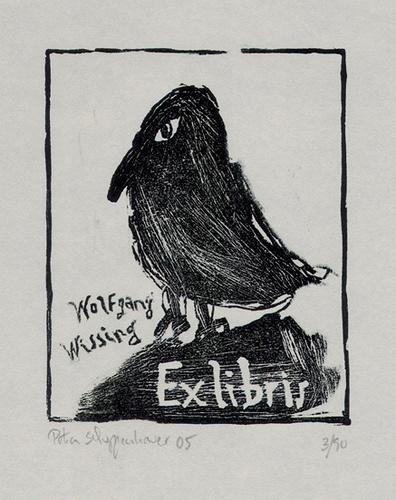// bookplate, artist: petra schuppenhauer