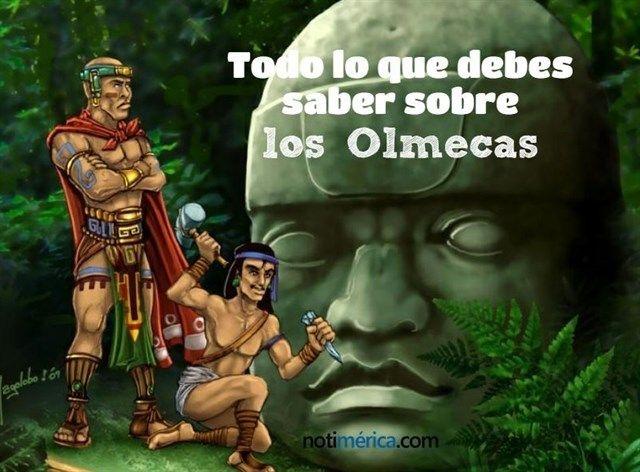 Todo lo que debes saber sobre los Olmecas