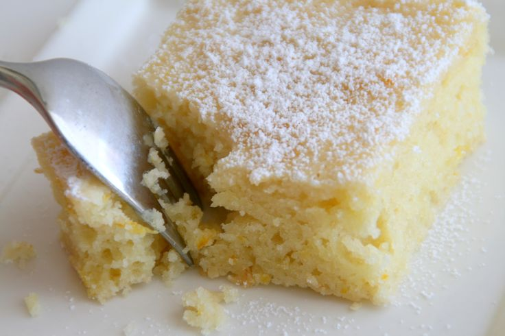Orange-almond yogurt cake | Citrus | Pinterest