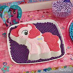 Decorate a Pinkie Pie cake for your birthday pony!