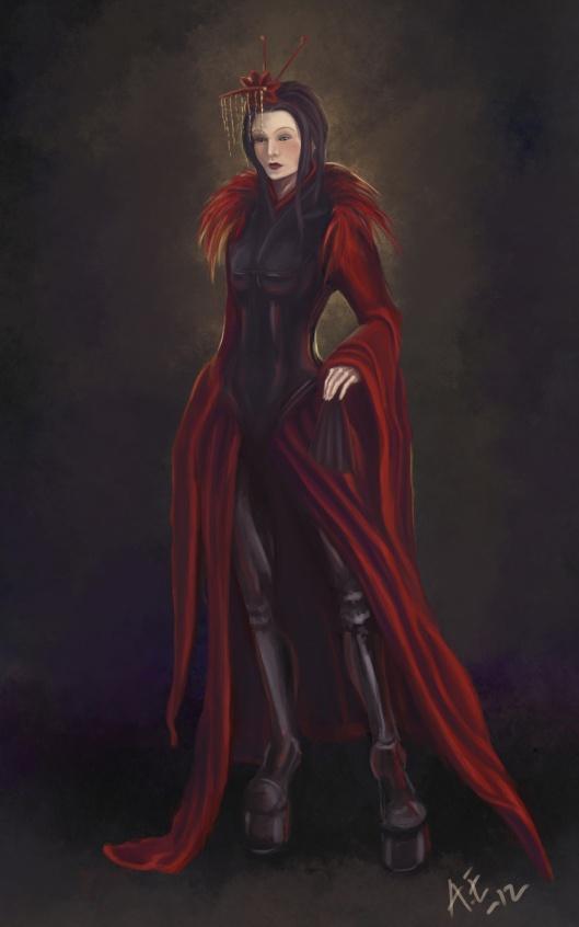 The queen in Rumpelstiltskin