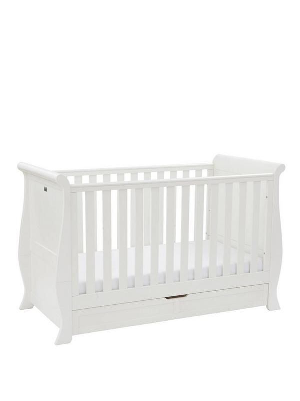 Silver Cross Nostalgia Sleigh Cot Bed | very.co.uk