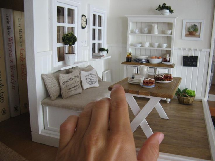 Miniatures all the houses you like in your hands :-) #miniature