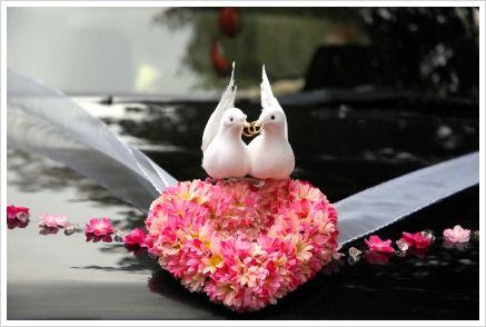 Wedding car - decoration