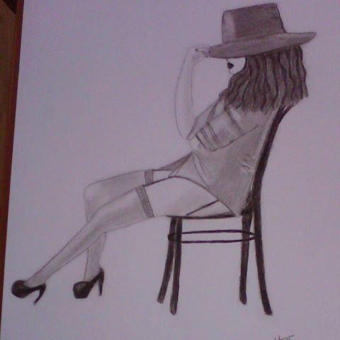 #buenastardes  desde #gijon  #asturias  #spain  #españa . Acabé mi primer #dibujo  en #charcoal  #carboncillo . Muy orgullosa!!! #cabaret  #paint  #pintura  #blackandwhite  #portrait  #drawing  #sexy  #woman  #artist  #paper  #cuadros  #handmade . (he utilizado los de #tiger , van genial)