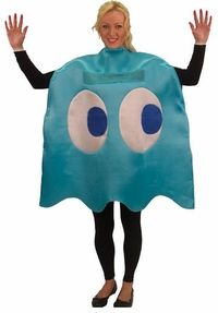 adult inky pacman ghost costume #videogames