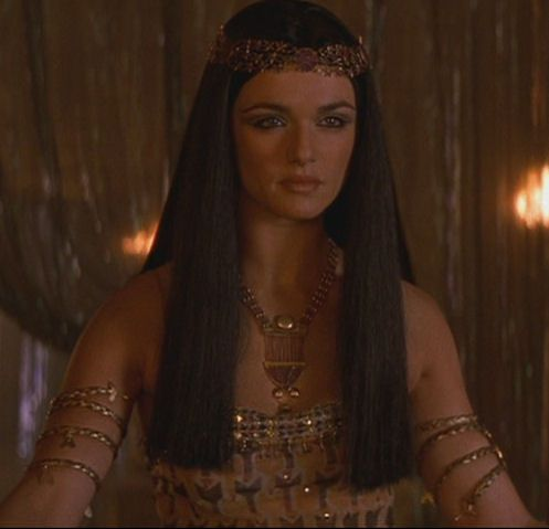 The Mummy - Princess Nefertiti - Evy back in the day played by the very beautiful Rachel Weisz-Craig