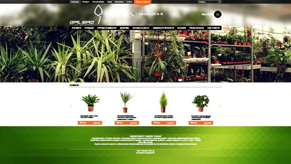 Galsad website (new) on Behance