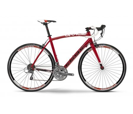 Haibike Q Race SL rød/hvid racercykel 24 gear