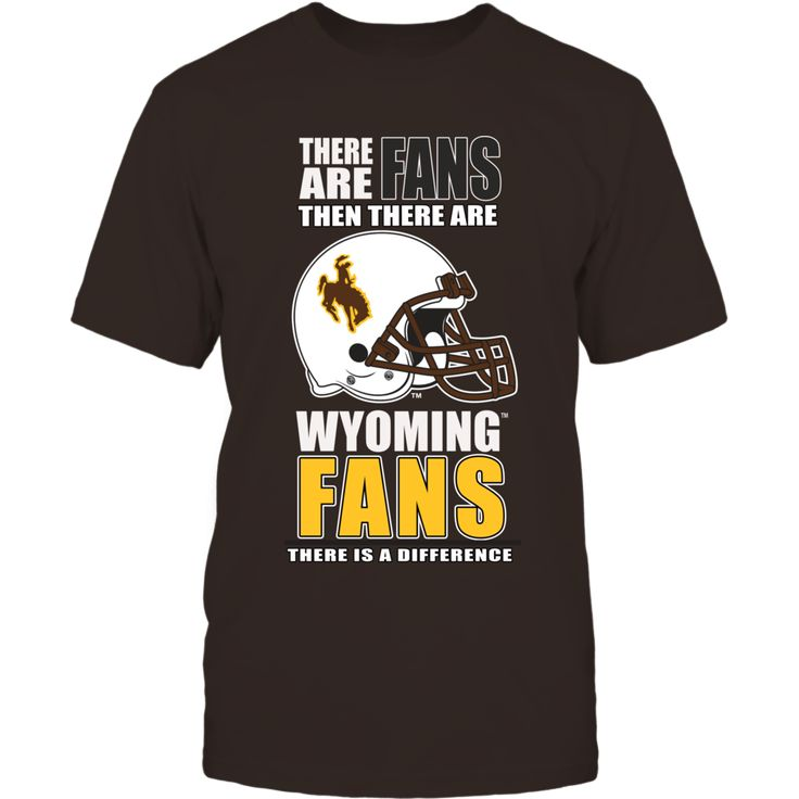 Wear an officially licensed shirt at a University of Wyoming football game and show what an obsessed fan you are of Wyoming Cowboys football. These shirts are not found in stores and are guaranteed to make you stand out in the football stadium. Your friends and family will be jealous.