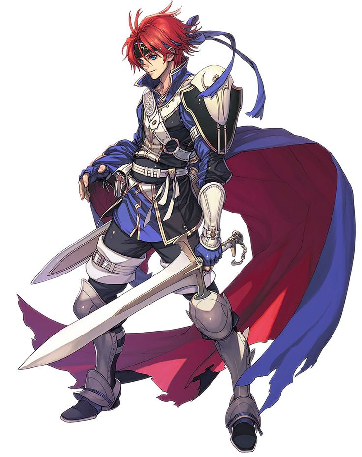Fire Emblem: Awakening - Roy This is the second artwork available for Roy, it can only be obtained through a DLC map.