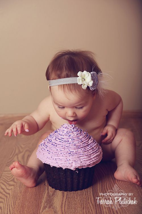 Great idea for 1st bday cake smash!
