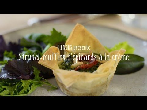 Strudel-muffins d'épinards à la crème - FINDUS