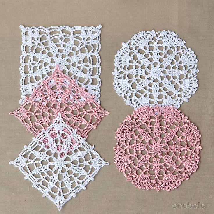 encajes de ganchillo: motivos por los patrones libres Anabelia Craft Diseño