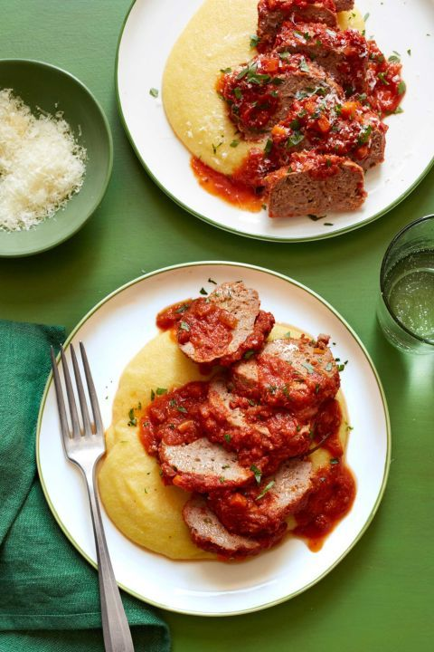 Mini Meat Loaves and Polenta: Meat loaf and slow cookers are a match ...