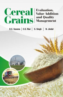 Agriculture Books, Cereal Grains: Evaluation,Value Addition and Quality Management - www.nipabooks.com