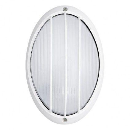 EGLO SIONES LED Außen Wand & Deckenleuchte, 1x GX53, IP44, weiss, 93261