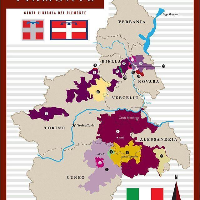 🖌 DISEÑO. Infográfico. 🍷  CLIENTE. Italmarket GIRO. Importadora y distribuidora de productos italianos.  UBICACIÓN. San Pedro Garza García, Nuevo León  Italmarket nos comisionó el diseño de si Guía de Vinos. Aquí mostramos un fragmento, el mapa vinícola de la región del Piamonte.  Altäir Arts 2017  #Design  #Graphics #Diseño #AltairArtsMty #MTY #NL #Mexico #CreativeStudio #Designer #newaccount #followme #bureau #guide #infographic #wine #map #piedmont #piemonte #pismonte #VinoItaliano