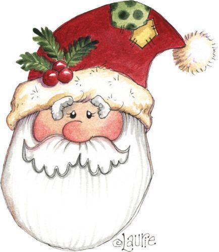 Christmas Crafts Printables Santa Claus