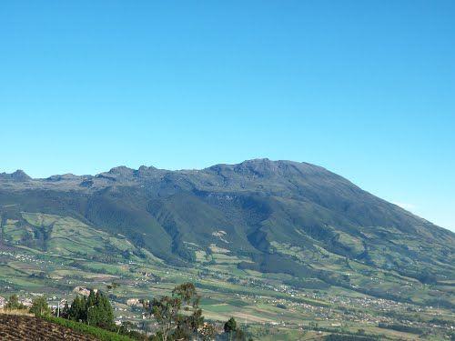 VISTA volcan Galeras