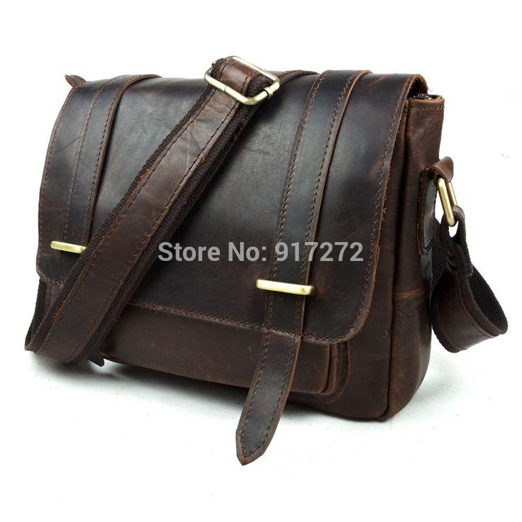 2016 100% Натуральная кожа мужчины Портфели Сумка Моды Кожа Корея отдых Crazy horse кожаный Портфель Мужчины Натуральная кожа сумка
