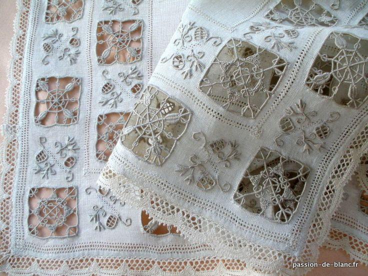 17 meilleures id es propos de rideaux de dentelle blancs sur pinterest ri - Rideaux anciens dentelle ...