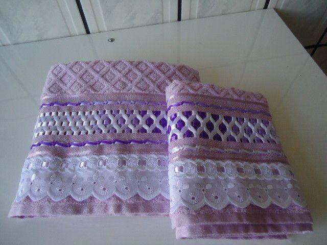 toalhas bordadas com trançado de fitas - Pesquisa do Google