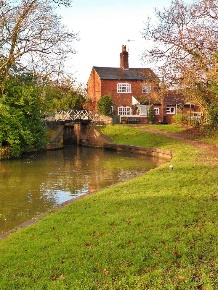 ~Lock Keepers Cottage and Bridge, Kingswood Junction, Lapworth, Warwickshire, England~