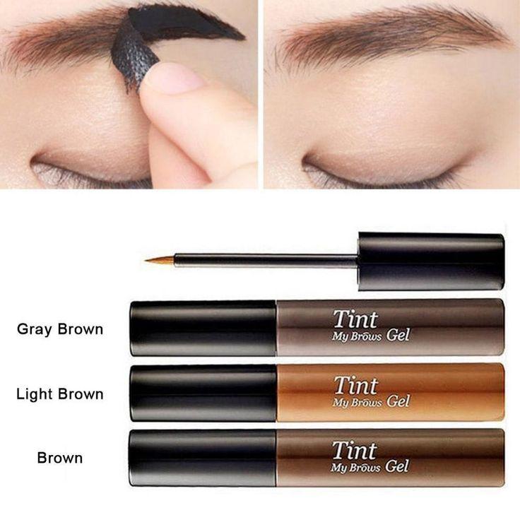 Popular Natural Tattoo Makeup Tools Enhancer Peel Off Dye Eyebrow Cream Gel