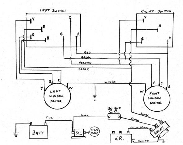 Avanti Power Window Wiring Diagram Diagram Automotive Electrical Power