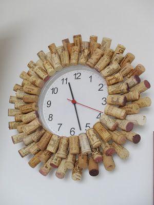Cork watch / orologio con tappi diy