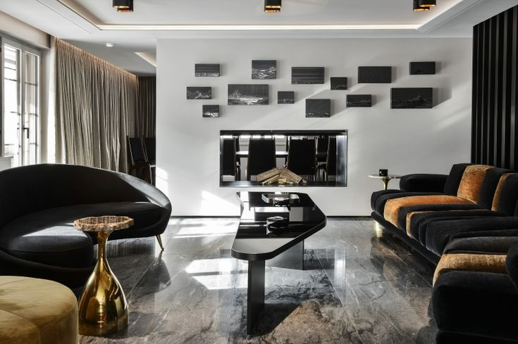 The Most Beautiful Living Rooms In Paris Architecture