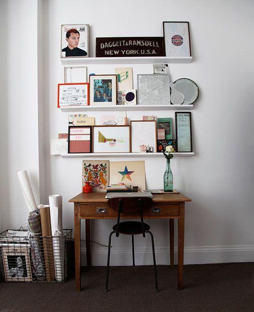 shelves & frames-for desk area
