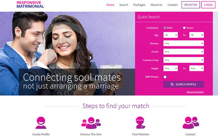 . Matrimonial website script is developed because our company is inspired by other matrimonial websites like bharat matrimony, shaadi.com , jeevansathi.com ; even then our script is distinctive from other matrimonial websites.