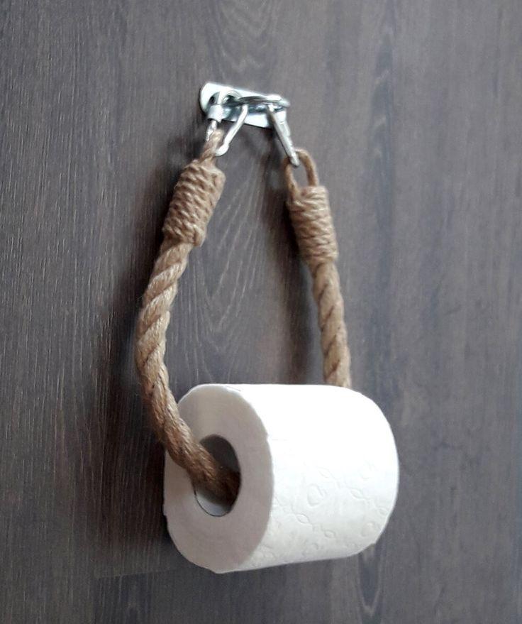 Bauernhof Jute Seil Toilettenpapierhalter