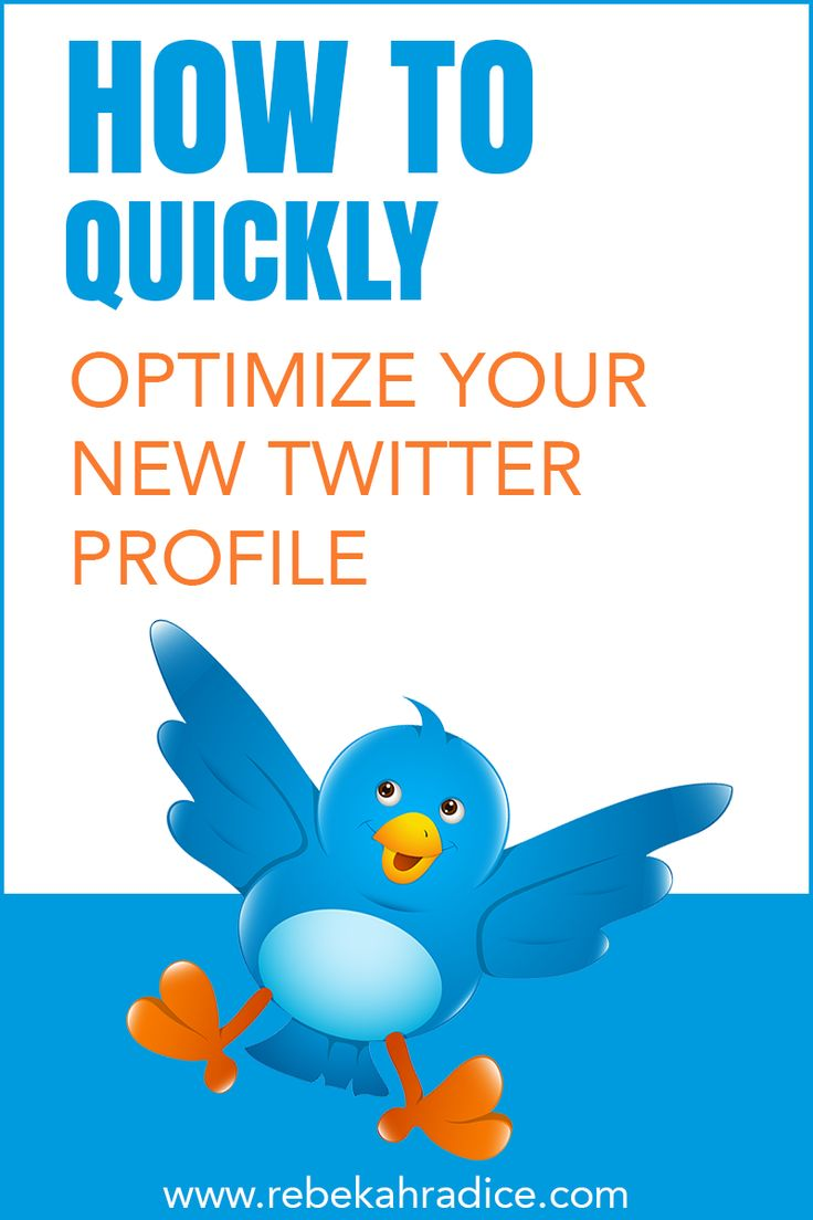 How to Optimize Your New Twitter Profile via @Rebekah Radice http://rebekahradice.com/optimize-new-twitter-profile/ #socialmedia #socialmediamarketing