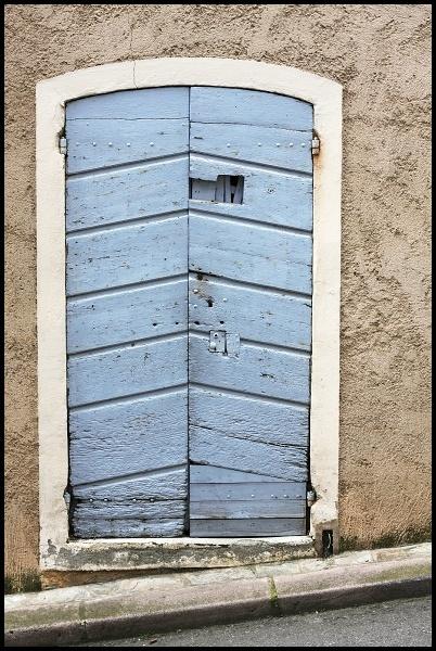 Corsica, France, strange little peep window